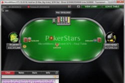 All-in Shootout  в серии MicroMillions 8